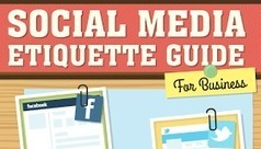 Digital Information World: GooglePlus, Twitter, Instagram, Facebook, Pinterest - Social Media Etiquette Guide For Business - #infographic | Social medias marketing | Scoop.it