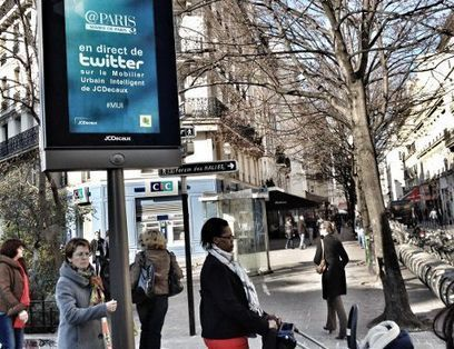 @Paris tweete dans la ville | 694028 | Scoop.it