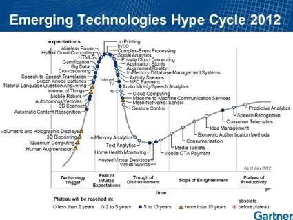 Gartner : technologies émergentes 2012 (via @cestpasmonidee) | Contrôle de gestion & Système d'Information | Scoop.it