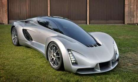 Blade supercar has bi-fuel engine, signifies 3D-print platform | Global Brain | Scoop.it