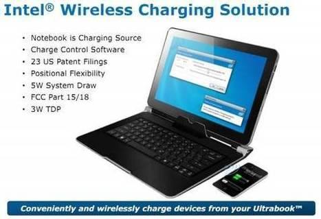 Intel sur une technologie de recharge sans-fil | Post-Sapiens, les êtres technologiques | Scoop.it