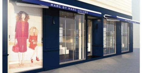 Marc by Marc Jacobs au BHV, le pop up store Jour J | Les collaborations entre créateurs et marques low cost | Scoop.it