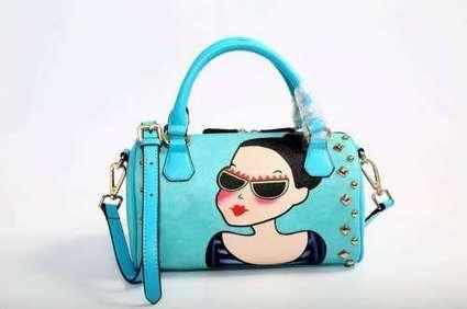 Korea YOUK SHIM WON Hot Model leather handbag Shoulder Bag | FBESHOP | Scoop.it