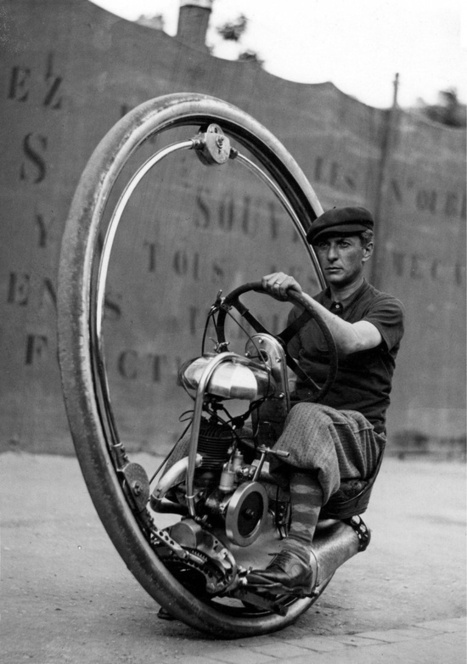 One Wheeled Motorcycle | Facts Village | Funny Pics Online | Scoop.it