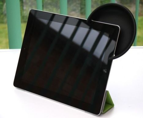 Boost Your iPad's Speaker Volume In An Instant With The Amplifiear [Review]   Macwidgets..some mac news clips   Scoop.it