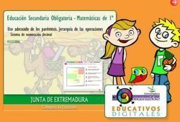Recursos Educativos: Matemáticas 1º ESO | angelikramirez | Scoop.it