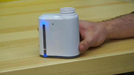Smart pill bottle could help you take your meds on time | Nursing Education | Scoop.it