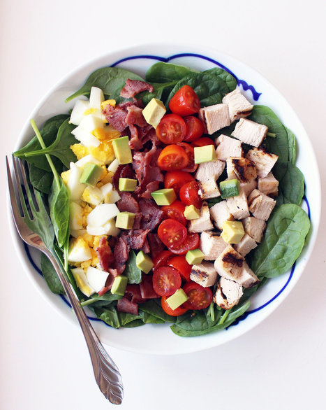 This 370-Calorie Cobb Salad Will Be Your New Favorite Lunch | Healthy Living Lifestyle | Scoop.it