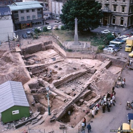 Exeter Roman Baths excavation plans | Archaeology News | Scoop.it