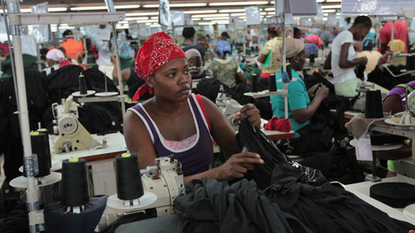 Why Poor Haitians End Up Wearing Obnoxious American T-Shirts | Ms. Postlethwaite's Human Geography Page | Scoop.it