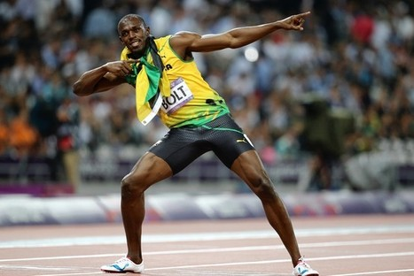 Don't Deny the Joy of Usain Bolt | Bolt and London 2012 | Scoop.it