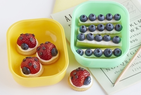 Lady Bugs and Ants on a Log Bento Box | KidArt | Scoop.it
