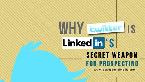 Why Twitter Is LinkedIn's Secret Weapon For Prospecting | LinkedIn Marketing Strategy | Scoop.it