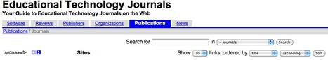 Educational Technology Journals | Business and Economics: E-Learning and Blended Learning | Scoop.it