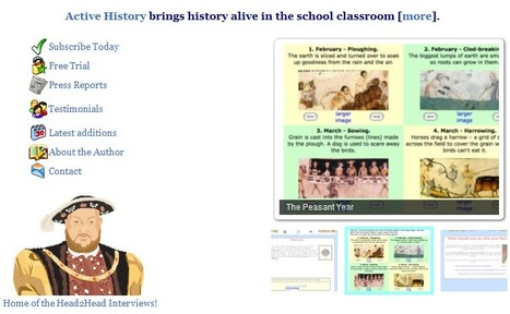 Active History brings history alive in the school classroom | UDL & ICT in education | Scoop.it