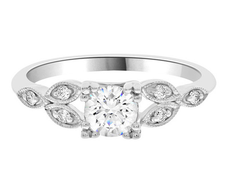 Unusual diamond ring pr1006 | Engagement Rings | Scoop.it