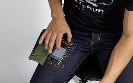 Jeans With Transparent Pocket Will End Smartphone Troubles, Aren't Creepy | Mobile Tools | Scoop.it