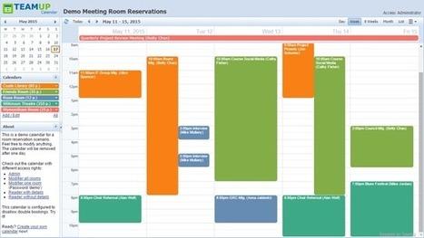Teamup Calendar | Shared Calendar for Groups ¦ Free for Up to 10 sub-calendars | Classe inversée -- Expérimentation -- Recherches | Scoop.it