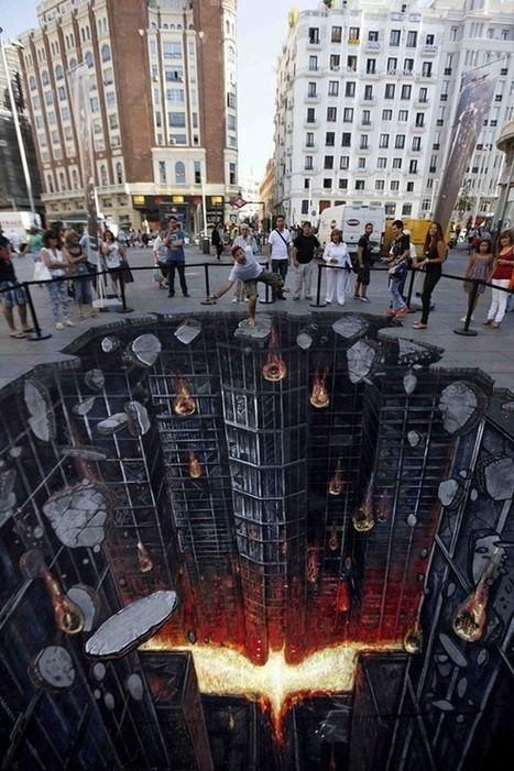 Mind Blowing 3D Chalk Art Created on Streets | Design, Photography, and Creativity | Scoop.it