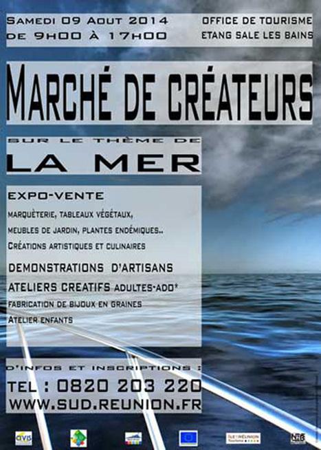 Marché de Créateurs à l'Étang-Salé les Bains | Olivier Nery tourisme | Scoop.it