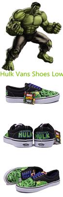 Blog - Custom Low Vans Hulk Flats Shoes Low Green   Comic Nike Dunks   Scoop.it