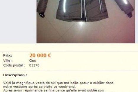 Une veste de ski en vente à 20 000€ sur leboncoin.fr   Alpes   Scoop.it