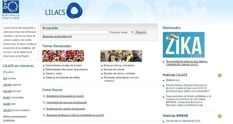 IntraMed - Tecnología - Búsqueda básica de información en LILACS | Ingeniería Biomédica | Scoop.it