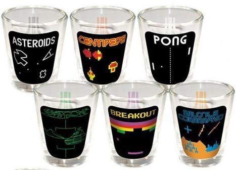 Les verres shooter Atari Retro Gaming – Asteroids, Centipede, Pong, Battle Zone et les autres   Ufunk.net   Vade RETROGames sans tanasse!   Scoop.it