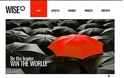 Pledge Allegiance To The Red, Black and White Website Designs For Inspiration | Design Revolution | Scoop.it