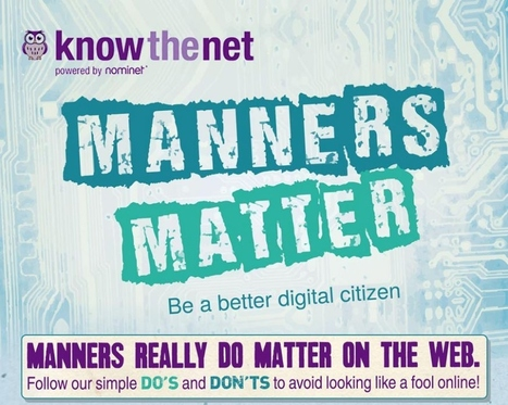Manners Matter Infographic | Bilder mm | Scoop.it