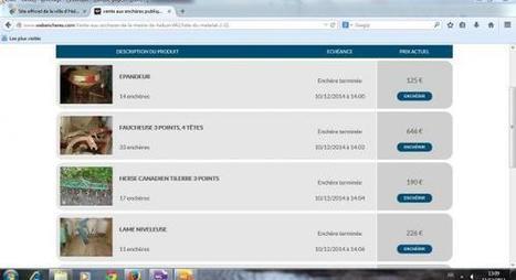 Halluin: de bonnes affaires avec les enchères sur le site Internet de la Ville | Revue de presse | Scoop.it