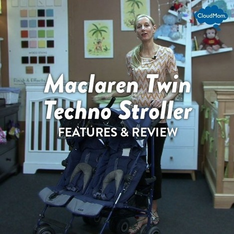 Features and Review of the Maclaren Twin Techno Stroller | CloudMom | My Parenting Tips | Scoop.it