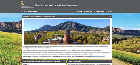 Taking Student Orientation Online -- Campus Technology | Online Networked Learning | Scoop.it