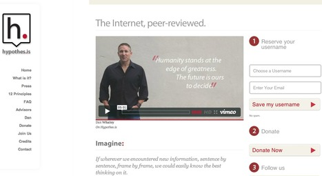 Hypothes.is | The Internet, peer reviewed. | Technology Ideas | Scoop.it