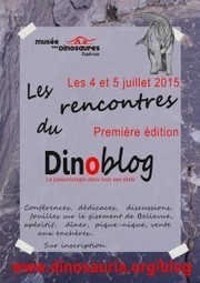 Les rencontres du Dinoblog : programme de cette première édition | C@fé des Sciences | Scoop.it
