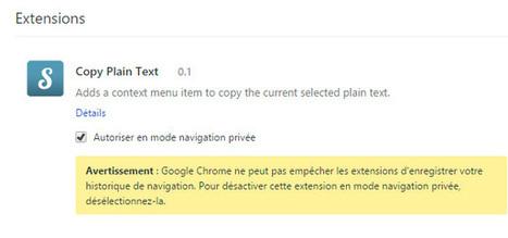 Des extensions Chrome envoient toute votre navigation à des tiers - Numerama | netnavig | Scoop.it