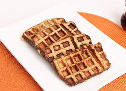 Waffle French Toast   desserts   Scoop.it