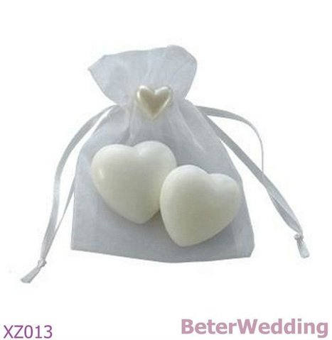 Aliexpress.com : Buy 28bags Free Shipping Party gifts wholesale 56pcs Heart Shaped Soap in Organza Bag XZ013 as wedding gifts from Reliable Party gift suppliers on Your Unique Wedding Favors | Soap Gift Set, Wedding Bubbles | Scoop.it