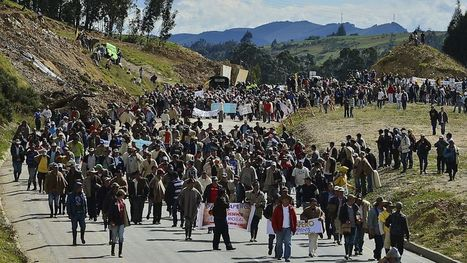 #Colombia Farmer Strikes Were Result of Washington Policy | Peer2Politics | Scoop.it