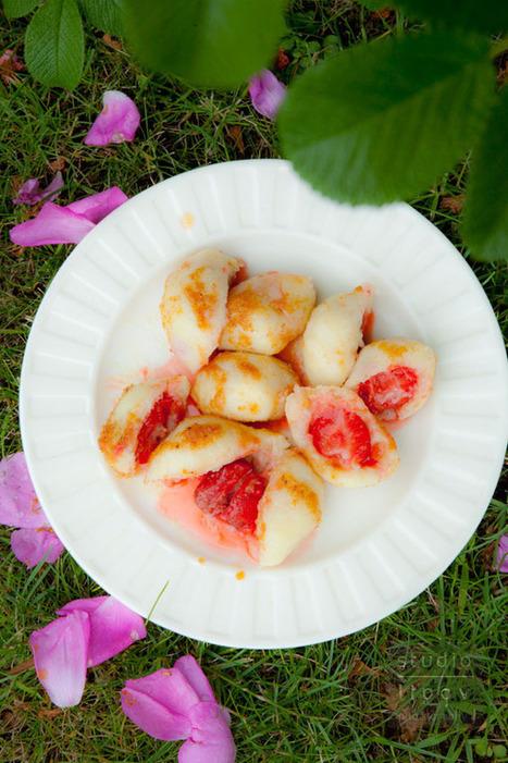 Perfekcyjne knedle z truskawkami | Kulinaria | Scoop.it