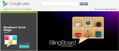 Gmail, Facebook, Twitter y SMS juntos en BlingBoard para Android | MOBILE LEARNING USER FRIENDLY | Scoop.it