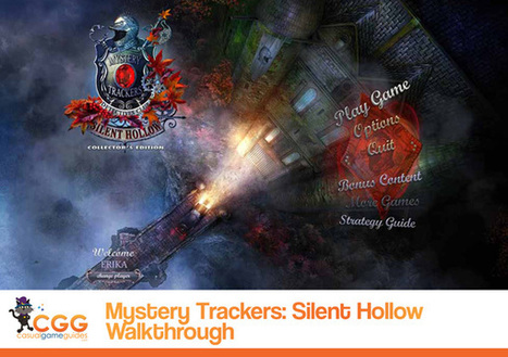 Mystery Trackers: Silent Hollow Walkthrough: From CasualGameGuides.com | Casual Game Walkthroughs | Scoop.it