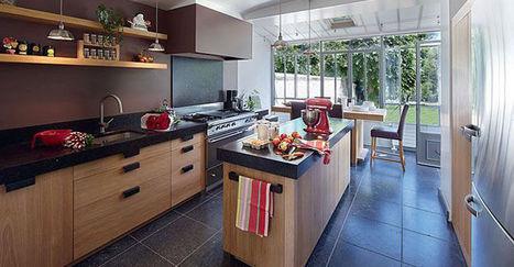 Pièces atypiques : recettes d'architectes pour une cuisine au top | Habitat en France | www.proxidevis.fr | Scoop.it