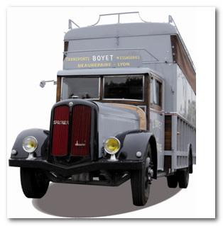 Patrimoine : Un nouveau camion restauré pour la Fondation Berliet à Lyon | LYFtv - Lyon | Scoop.it