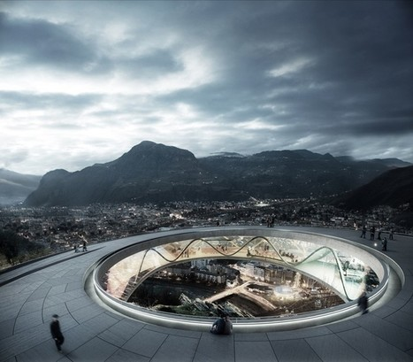 Snøhetta to RECONNECT Bolzano with ringed cable car station on the italian mountainside | The Architecture of the City | Scoop.it