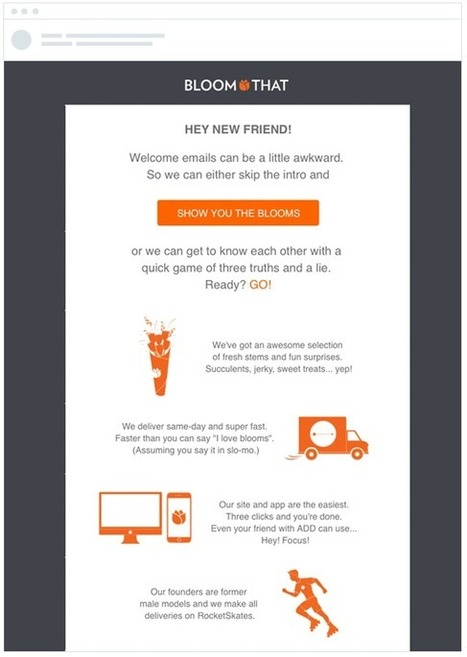 How to use a welcome email to engage your subscribers from the start | online presence | Scoop.it
