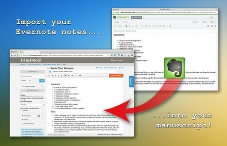 Evernote intègre l'outil d'autopublication de Fast Pencil | Evernote | Scoop.it