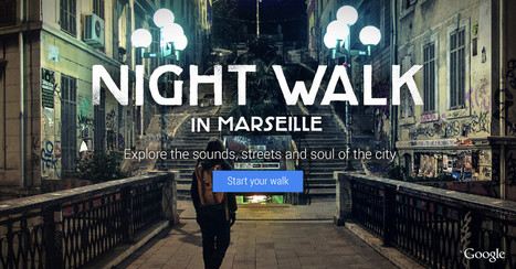 Google Night Walk | audio branding | Scoop.it