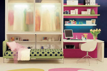 Small Teen Bedroom Decor Ideas | Designing Interiors | Scoop.it