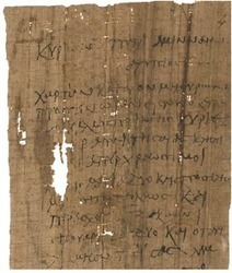 The Use of Papyrus Sheets in Ancient Letter Writing | LVDVS CHIRONIS 3.0 | Scoop.it